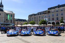 #66 Ford Chip Ganassi Racing Ford GT: Olivier Pla, Stefan Mücke, Billy Johnson, #67 Ford Chip Ganass