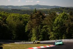 #44 Team Falken Motorsport, Porsche 991 GT3-R: Martin Ragginger, Jörg Bergmeister, Dirk Werner, Laur