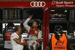 Ernst Moser y #5 Phoenix Racing, Audi R8 LMS: Mike Rockenfeller