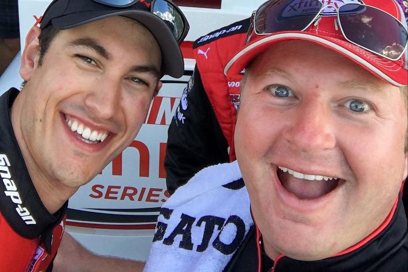 Tab Boyd and Joey Logano, Team Penske