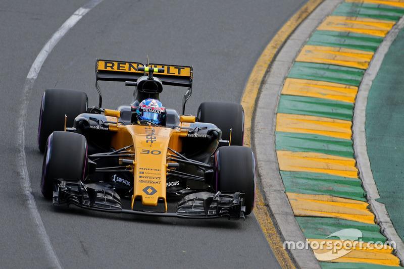 Giri 12 & 16, Renault Sport F1 Team - Jolyon Palmer
