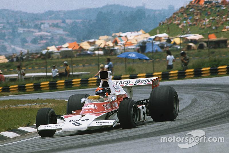 Emerson Fittipaldi, 2 veces ganador del GP de Brasil