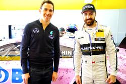James Hinchcliffe, Team HWA AG, Mercedes-AMG C 63 DTM con Robert Wickens