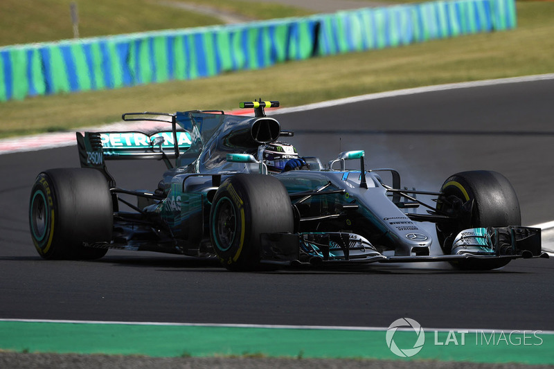 Валттері Боттас, Mercedes-Benz F1 W08 Hybrid