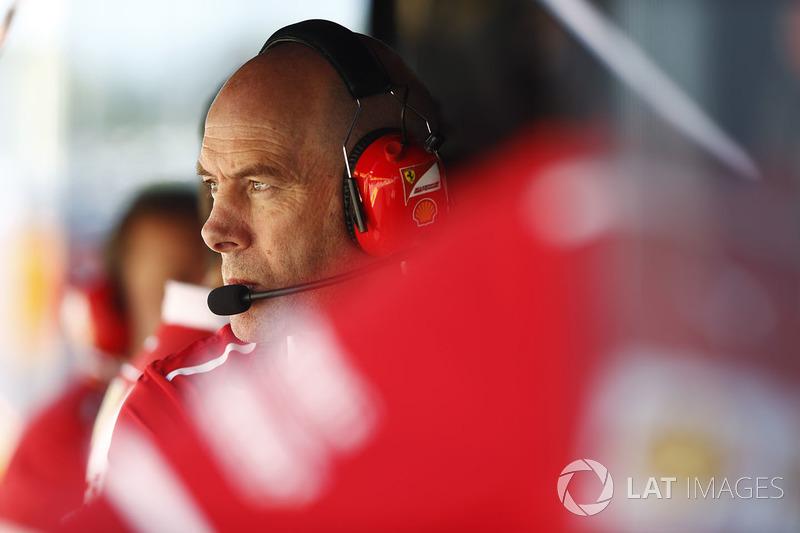 Jock Clear, Director de ingeniería, Ferrari