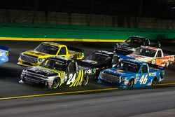 Justin Haley, Fraternal Order of Eagles Chevrolet Silverado, Cody Coughlin, ThorSport Racing Toyota,