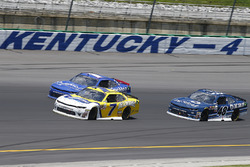 Justin Allgaier, JR Motorsports Chevrolet, Elliott Sadler, JR Motorsports Chevrolet, Brennan Poole,