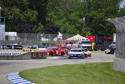 #74 TA2 Chevrolet Camaro, Gar Robinson, Robinson Racing, #72 TA2 Chevrolet Camaro, Shane Lewis, Robi
