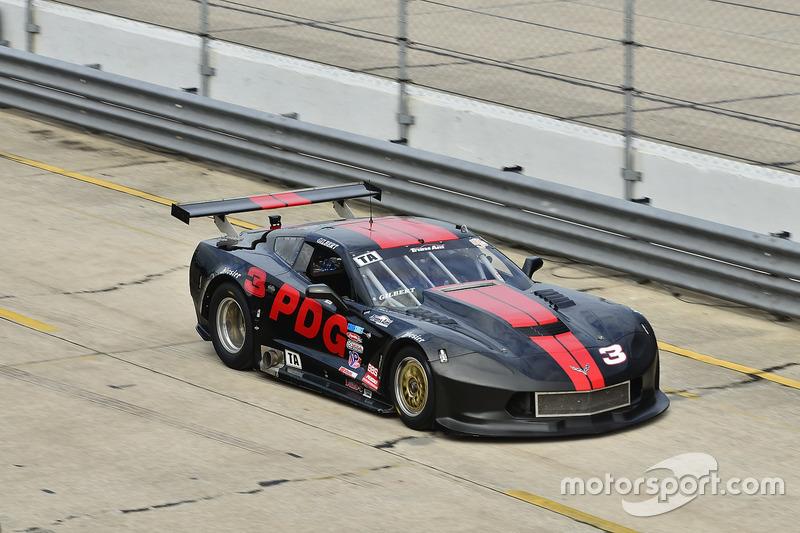 #3 TA Chevrolet Corvette, Henry Gilbert, Performance Driving Group