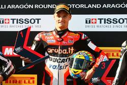 Le poleman Chaz Davies, Ducati Team