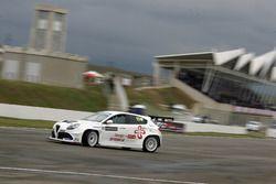 Shota Abkhazava, GE-Force, Alfa Romeo Giulietta TCR