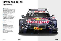 Vista frontal del BMW M4 DTM