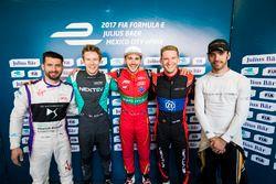 Jose Maria Lopez, DS Virgin Racing, Oliver Turvey, NEXTEV TCR Formula E Team, Daniel Abt, ABT Schaef