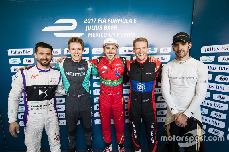 Jose Maria Lopez, DS Virgin Racing, Oliver Turvey, NEXTEV TCR Formula E Team, Daniel Abt, ABT Schaef