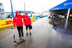 Lucas di Grassi, ABT Schaeffler Audi Sport nel paddock