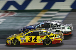 Landon Cassill, Front Row Motorsports Ford, Matt DiBenedetto, Go Fas Racing Ford