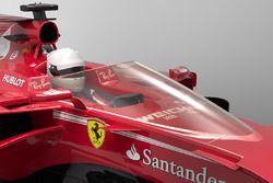 Representación escudo de Ferrari F1