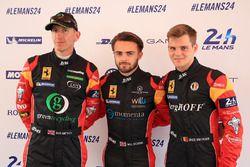 Robert Smith, Will Stevens, Dries Vanthoor, JMW Motorsport