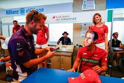 Sam Bird, DS Virgin Racing, andLucas di Grassi, ABT Schaeffler Audi Sport