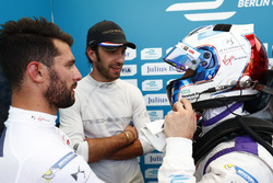 Jose Maria Lopez, DS Virgin Racing, Jean-Eric Vergne, Techeetah y Sam Bird, DS Virgin Racing