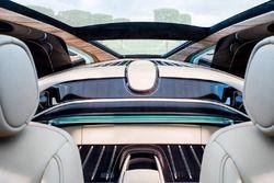 Rolls Royce Sweptail, interni