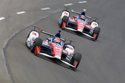 Carlos Munoz, A.J. Foyt Enterprises Chevrolet, Conor Daly, A.J. Foyt Enterprises Chevrolet