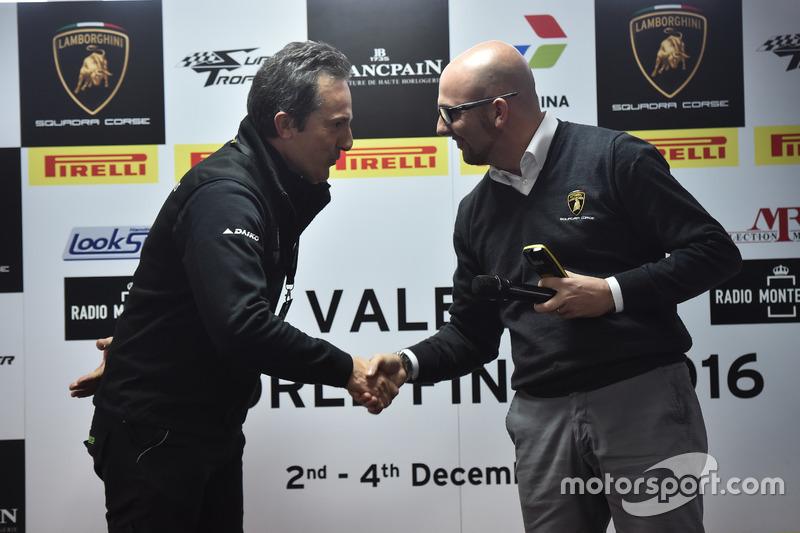 Tancredi Pagiaro, titolare e team principal di Lazarus, e Giorgio Sanna, head of motorsport di Autom