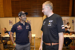 Nasser Al-Attiyah, Toyota Gazoo Racing, Sven Quandt, directeur général du X-Raid Team