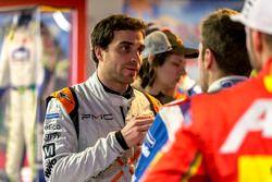 Jérôme d'Ambrosio, Dragon Racing spricht mit Antonio Felix da Costa, Amlin Andretti Formula E Team