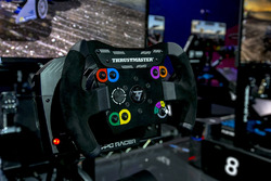 Simulator steering wheel