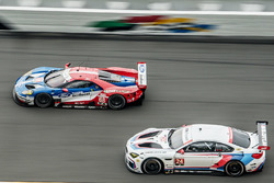 #68 Chip Ganassi Racing Ford GT: Billy Johnson, Stefan Mücke, Olivier Pla, #24 BMW Team RLL BMW M6 GTLM: John Edwards, Martin Tomczyk, Nicky Catsburg, Kuno Wittmer