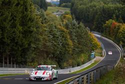 Andreas Weiland, Bert Flossbach, Sebastian Glaser, Porsche GT-3 MR 4.0
