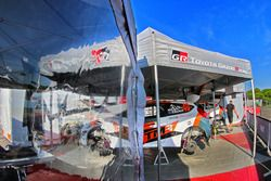 The car of Hiroki Arai, Glenn MacNeall, Tommi Makinen Racing Oy Ford Fiesta R5