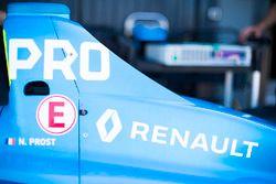 Gros plan sur la Renault e.Dams