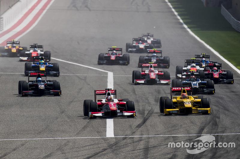 Arrancada Charles Leclerc, PREMA Racing líder