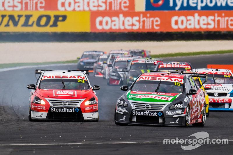 Rick Kelly, Nissan Motorsports, Michael Caruso, Nissan Motorsports