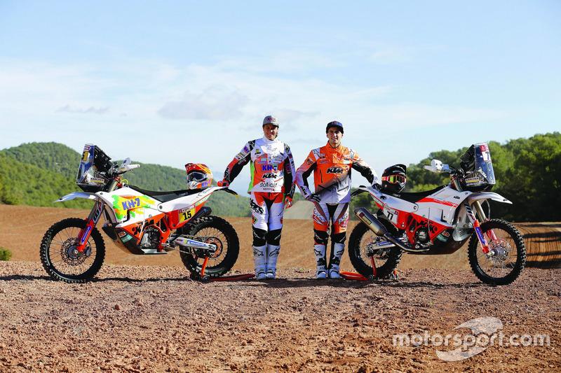 Laia Sanz, KH-7 Rally Team, Luciano Benavides, KTM
