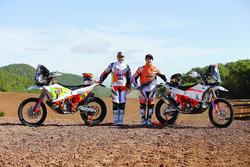 Лайа Санс, KH-7 Rally Team, и Лусиано Бенавидес, KTM