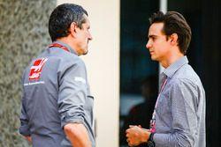 Руководитель Haas F1 Гюнтер Штайнер и Эстебан Гутьеррес