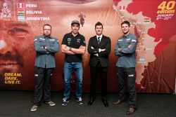 Tobias Henschel, Nani Roma, Marc Coma and Marcus Walcher