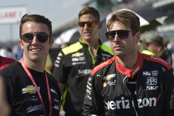 Will Power, Team Penske Chevrolet, James Davison, A.J. Foyt Enterprises with Byrd / Hollinger / Belardi Chevrolet
