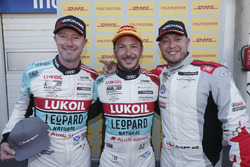 Top3 after qualifying: Pole position for Jean-Karl Vernay, Audi Sport Leopard Lukoil Team Audi RS 3 LMS, second place Gordon Shedden, Audi Sport Leopard Lukoil Team Audi RS 3 LMS, third place Rob Huff, Sébastien Loeb Racing Volkswagen Golf GTI TCR