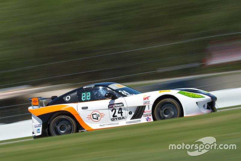 #24 Ian Lacy Racing Ginetta G55: Frank Gannett