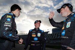 Les polemen #10 Wayne Taylor Racing Cadillac DPi, P: Renger van der Zande, Jordan Taylor, Ryan Hunter-Reay
