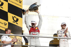 Podium: second place René Rast, Audi Sport Team Rosberg, Audi RS 5 DTM