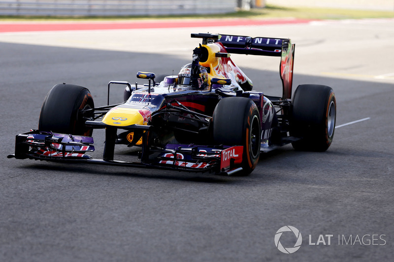 32. El Red Bull Racing RB9 de F1 de 2013