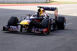 Ganador de la carrera Sebastian Vettel, Red Bull Racing RB9