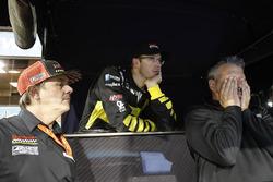 Sébastien Bourdais, Dale Coyne Racing with Vasser-Sullivan Honda, mit Jimmy Vasser und Craig Hampsen