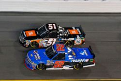 Stewart Friesen, Halmar Friesen Racing, We Build America Chevrolet Silverado y Spencer Davis, Kyle B