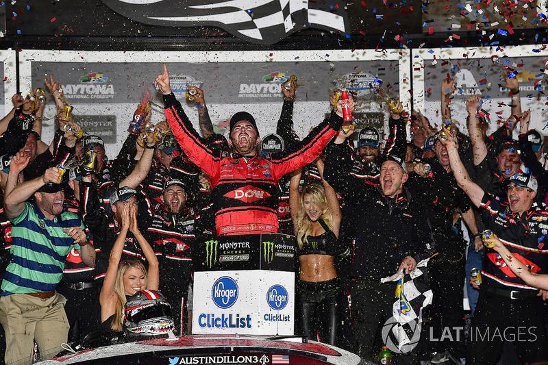 Austin Dillon, Richard Childress Racing Chevrolet Camaro wint